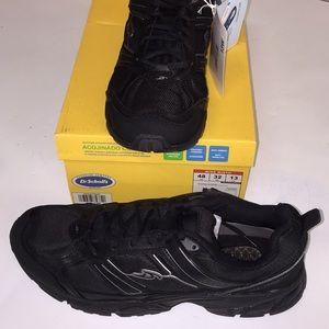Dr. Scholls Mens Athletic Shoes size 13 wide black